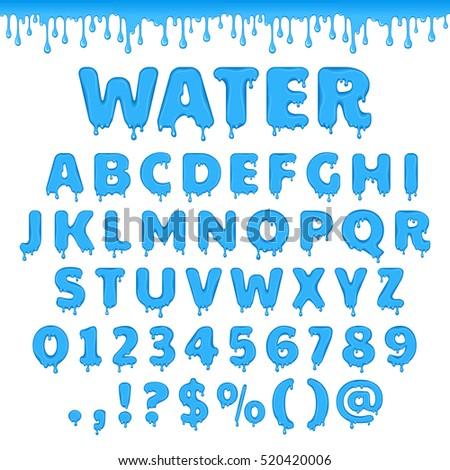 liquid font alphabet wwwpixsharkcom images galleries