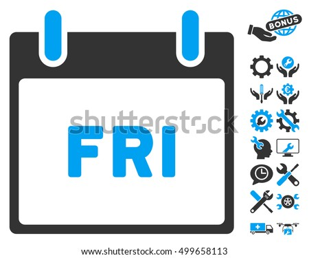 Friday Calendar Clipart