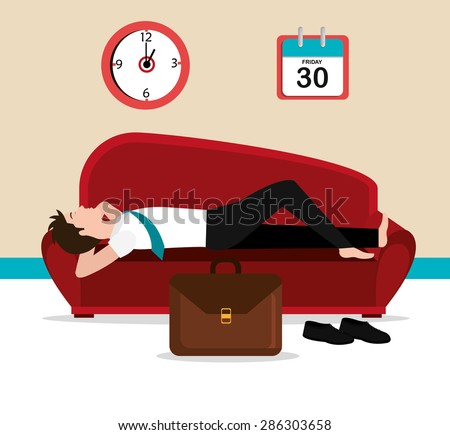 Friday design over beige background, vector illustration. - stock vector