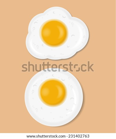 Fried Eggs and Sausages