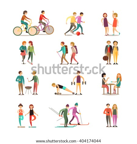 stock-vector-friends-and-hobbies-decorative-icons-set-with-hiking-dancing-soccer-skiing-barbecue-sightseeing-404174044.jpg