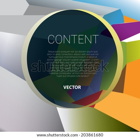 From monochrome to colorful transition concept vector illustration - stock vector