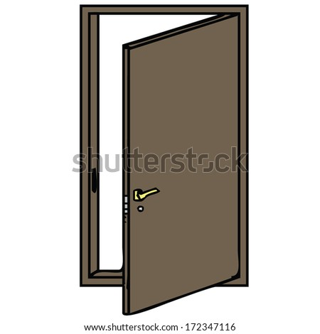 open front door illustration. Delighful Open Front Door Open Vector Illustration On Open Front Door Illustration A