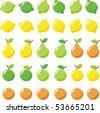 Fruit - stock vector