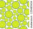 Fruit design seamless pattern. Vector illustration. EPS 10 - stock vector