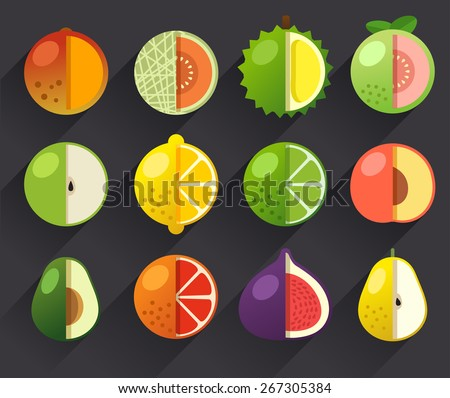 Fruit Icon Set II