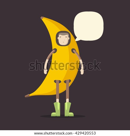 Fruit man in suit banana. the guy at the carnival. matinee. suit for  sc 1 st  Shutterstock & Fruit Man Suit Banana Guy Carnival Stock Vector (2018) 429420553 ...