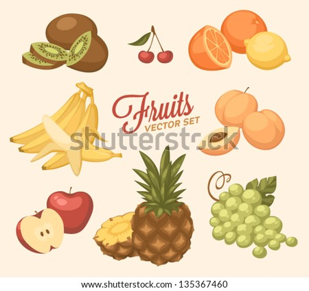 Fruit objects