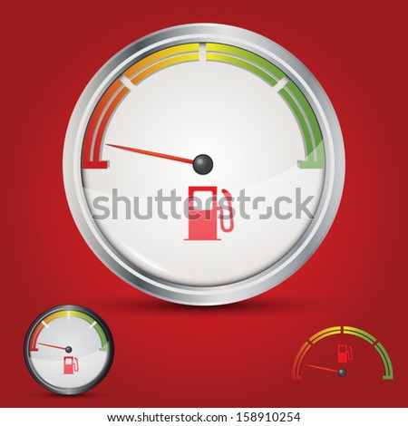 Fuel gauge empty tank