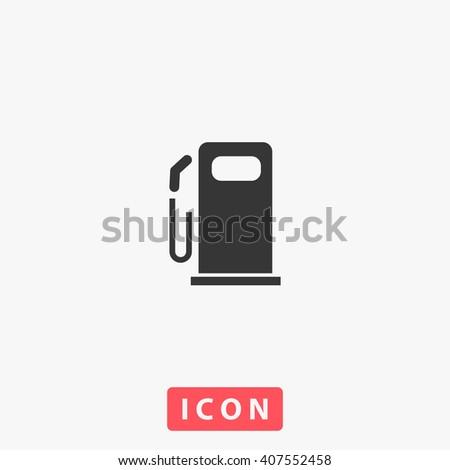 Fuel Icon.  - stock vector