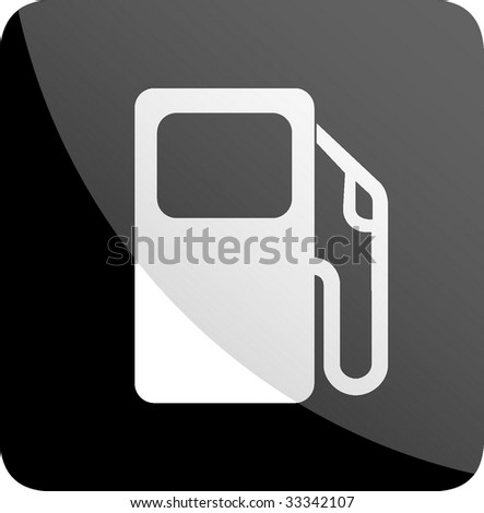fuel signal - stock vector