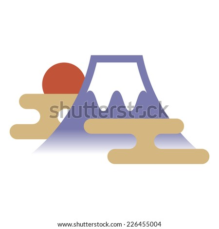 Fuji Mountain  - stock vector