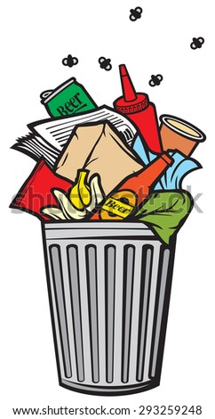 rubbish bin stock images  royalty free images   vectors trash can clip art trash can clip art image
