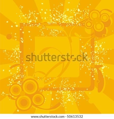 fully editable abstract grunge background vector illustration - stock vector
