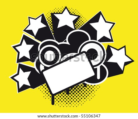 funky background 2 - stock vector