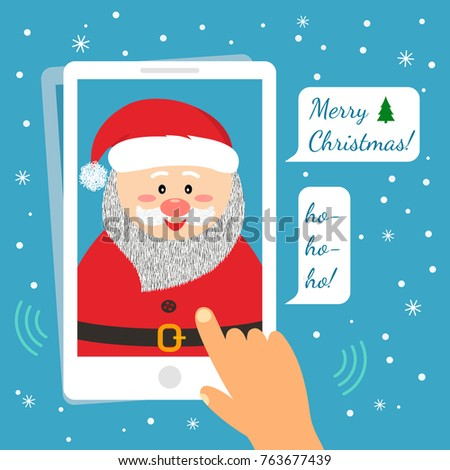 Funny Birthday Card New Year Christmas Stock Vector Hd Royalty Free