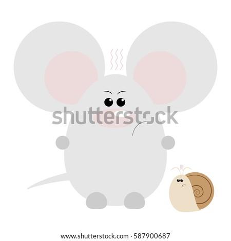 Angry mouse gets his face slapped 7