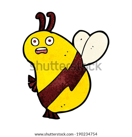 funny cartoon bee