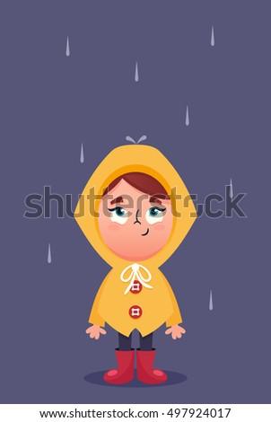 Raincoat Stock Vectors Images Amp Vector Art Shutterstock