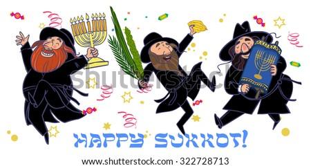 Funny Jewish Man Clip Art