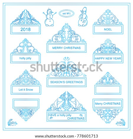 Funny Frozen Elements Christmas Wishes More Stock Vector 778601713 ...