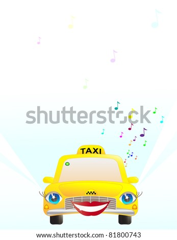 Funny girl taxi listing music