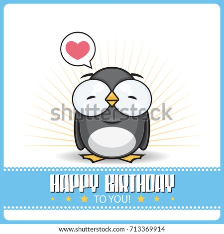 Funny Happy Birthday Greeting Card Cute Vector 431279398 – Funny Happy Birthday Greeting Cards