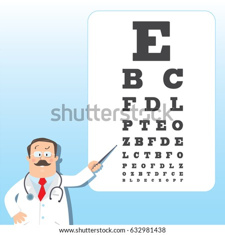 Eye Sight Chart Stock Vectors, Images & Vector Art | Shutterstock