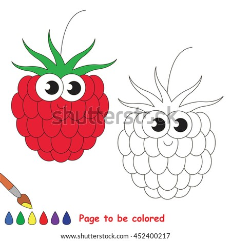 Coloring Book To Educate Kids Learn Colors Visual