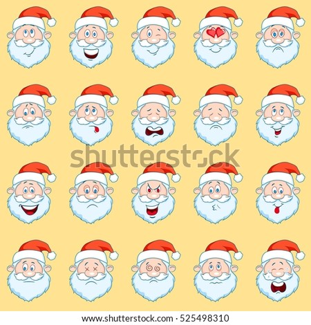 Santa Smiley Face Stock Images, Royalty-Free Images & Vectors ...