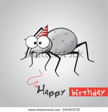 Пауки с днем рождения