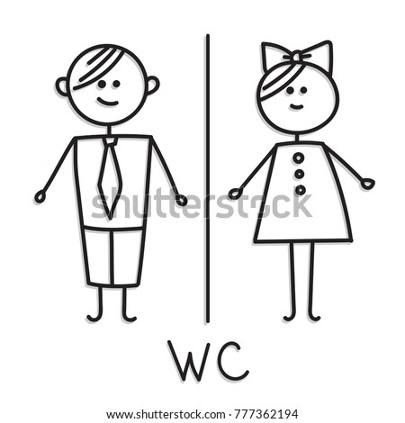 Free Printable Toilet Signs likewise Female Restroom Sign as well Family together with Semiotics besides Mens Room. on ladies toilet symbol sign
