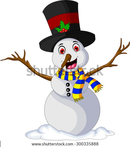 Funny Xmas Snowman for you design
