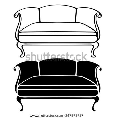 Victorian Sofa Stock Images RoyaltyFree Images Vectors