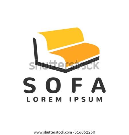 Furniture Store Logo. Furniture Logo. Furniture Icon. Furniture Design.  Furniture Isolated.