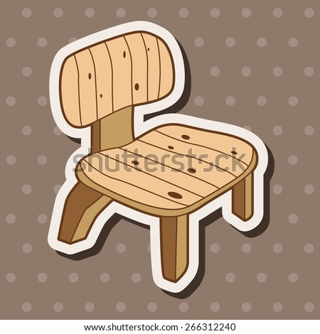 furniture theme chair sofa elements vector,eps