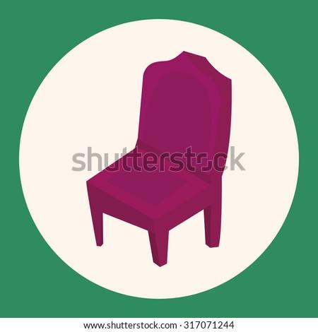 furniture theme chair sofa elements vector,eps - stock vector