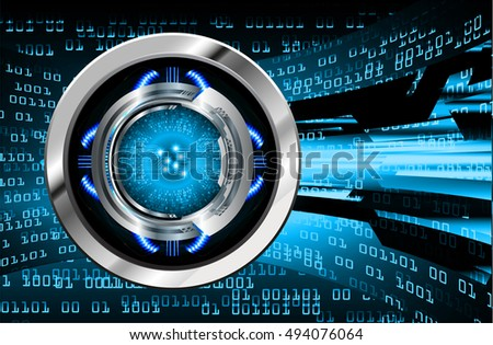 future technology, blue silver cyber security concept background, abstract hi speed digital internet.motion move speed blur. wave vector