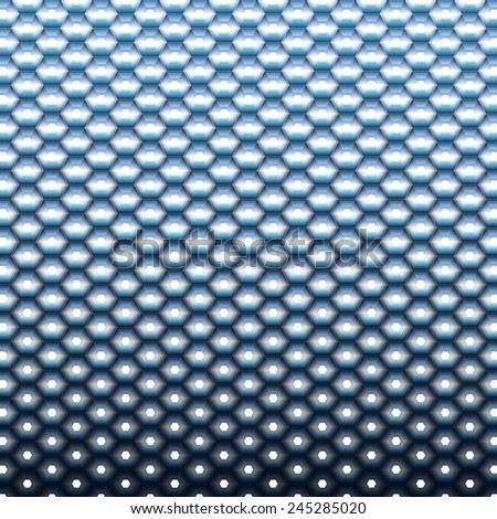 Futuristic concept techno blue background. Ideal for technology concept cover design work. - stock vector