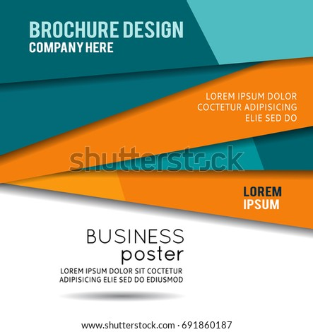 Futuristic Design, background with triangle. Abstract design layout template.