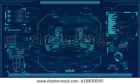 Futuristic Interface Stock Images, Royalty-Free Images & Vectors ...