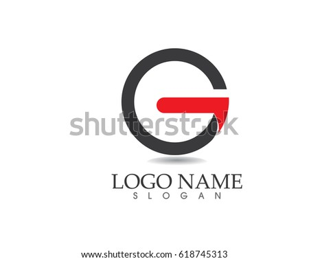 g logos stock vector royalty free 618745313 shutterstock