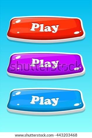 Game Buttons in different colors