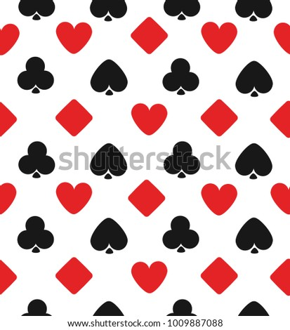 game cards pattern