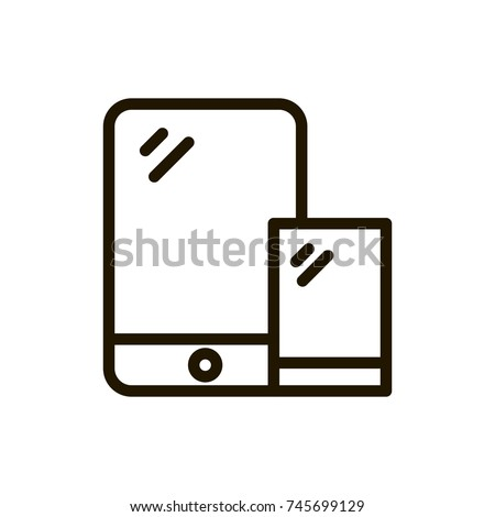 Game Console Flat Icon Single High Stock Vector 2018 745699129