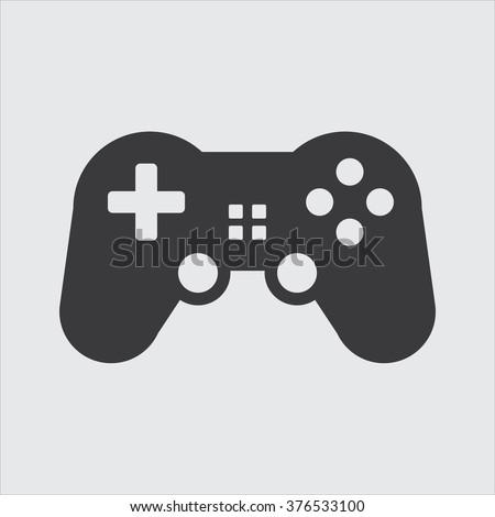Game controller icon . Vector illustration - stock vector