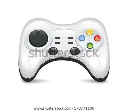 Gamepad - stock vector