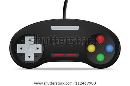 Gamepad Joystick vector illustration - stock vector
