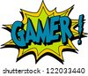 gamer - stock vector