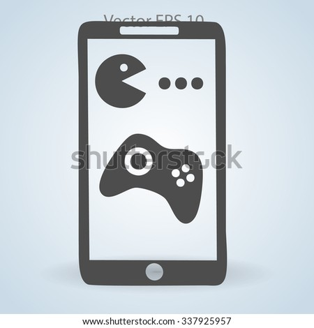 games for mobile phones vector